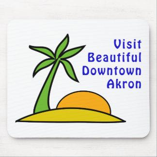 Besök härliga i stadens centrum Akron Musmatta