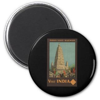 Besök Indien Budh Gaya Magnet