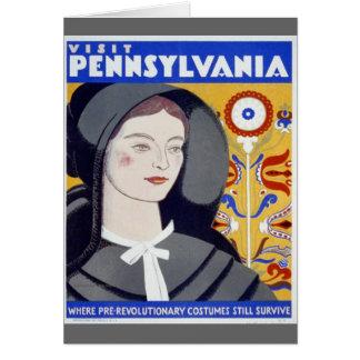 Besök Pennsylvania Hälsningskort