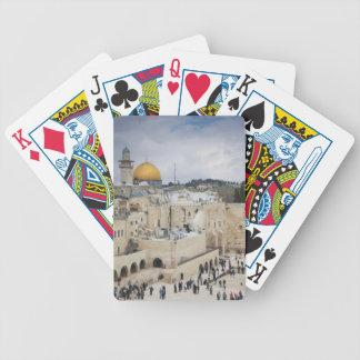 Besökare, western väggPlaza & kupol av stenen Spelkort