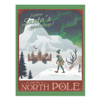 BesökSantas seminarium på nordpolenen: vykort