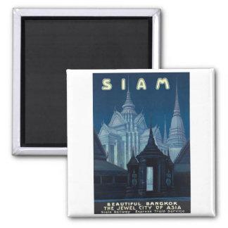 BesökSiam affisch Magnet För Kylskåp