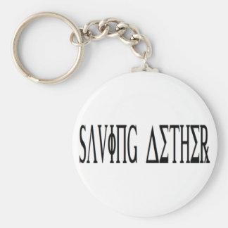 BesparingAether Keychain Rund Nyckelring