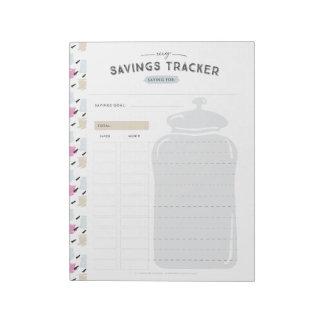 Besparingsburkbogserare Anteckningsblock