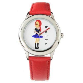 Beställnings- Anime som drar den röda klockan för Armbandsur