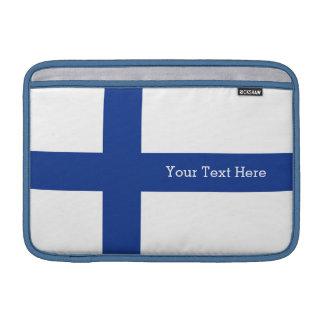 Beställnings- apparatsleever för finlandssvensk MacBook sleeve