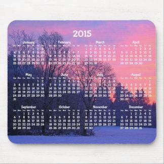 Beställnings- årlig mus mattorvinter för kalender musmattor