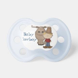 Beställnings- babynappar för gullig Cowboy Napp
