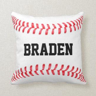 Beställnings- baseballdekorativ kudde