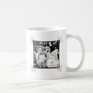 Beställnings- bildmugg med ramen kaffemugg