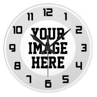 """Beställnings- """"design som din egna"""" unika vägg tar stor klocka"""