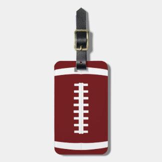 Beställnings- det fotbollslagfärg, namn och bagagebricka