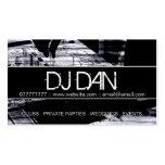 Beställnings- DJ-visitkortar Visitkort