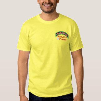 Beställnings- dobbleri broderad skjorta broderad t-shirt