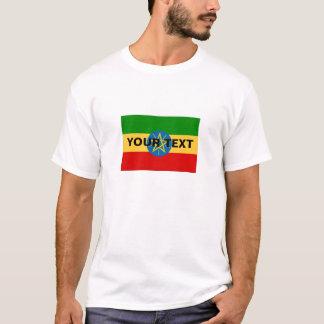 Beställnings- Etiopien flagga T-shirts