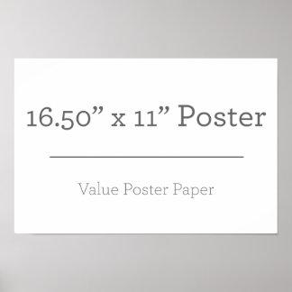 Beställnings- extra liten affisch poster