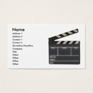Beställnings- Film kritiserar Visitkort