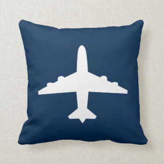 Beställnings- flygplandekorativ kudde