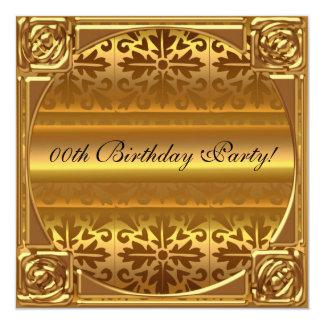 Beställnings- födelsedagsfest inbjudan