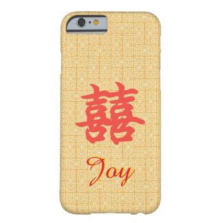 Beställnings- fodral för glädje för barely there iPhone 6 skal