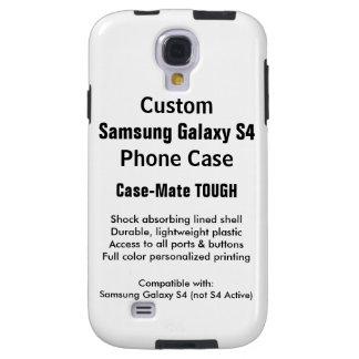Beställnings- fodral för telefon för tuff för galaxy s4 fodral