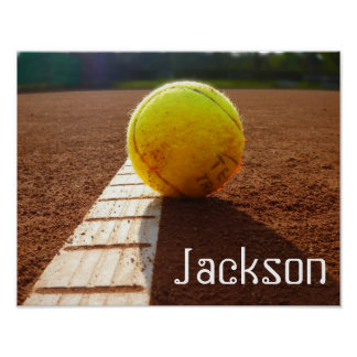 Beställnings- för tennisfoto för spelare eller för poster