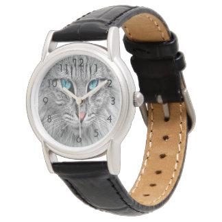 Beställnings- foto för katthundhusdjur armbandsur