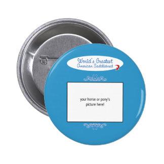 Beställnings- foto! Mest underbar amerikan Saddleb Pins