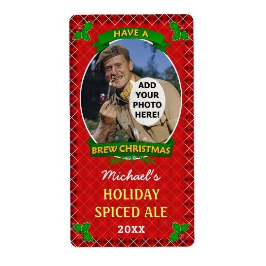 Beställnings- foto röda Argyle Homebrewing för Fraktsedel