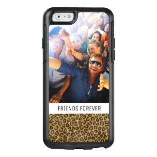 Beställnings- foto- & textLeopardpäls OtterBox iPhone 6/6s Skal