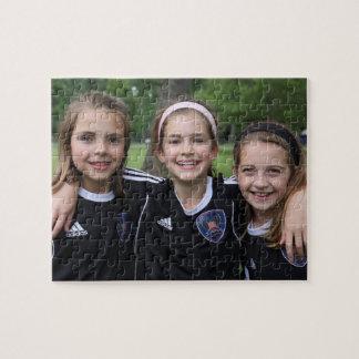 Beställnings- fotopussel för minnessak -