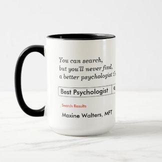 Beställnings- gåva för psykologer mugg