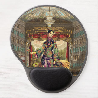 Beställnings- Gel Mousepad - vintageTheatre Gel Musmatta
