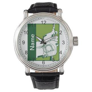 Beställnings- golfare armbandsur