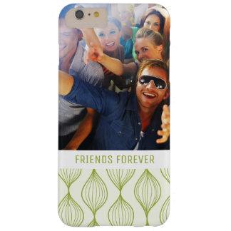 Beställnings- grönt Ogee för foto & för text Barely There iPhone 6 Plus Fodral