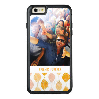 Beställnings- guld- Ogee för foto & för text OtterBox iPhone 6/6s Plus Skal