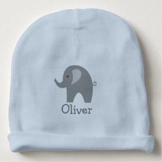 Beställnings- gullig grå hatt för beanie för bebis