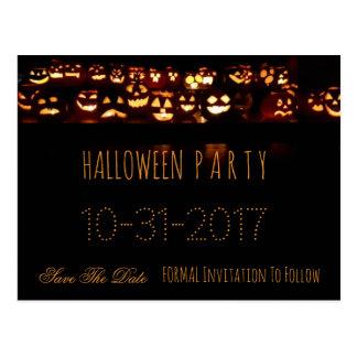 Beställnings- halloween festspara daterapumpan vykort