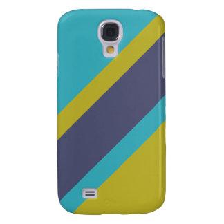 Beställnings- HTC fodral för randmönster Galaxy S4 Fodral