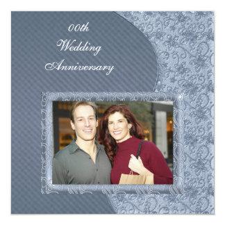 Beställnings- inbjudan för fotobröllopsdagparty