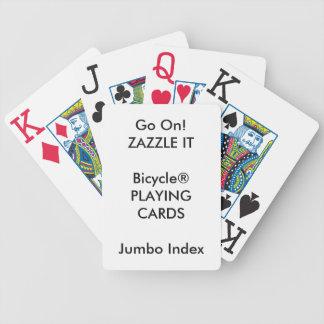 Beställnings- INDEX för tryckBicycle® JUMBO som Spelkort