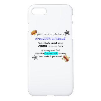 Beställnings- iPhone7 fodraluppsättning för iphone