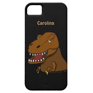 Beställnings- iphone 5 för T-Rex TyrannosaursRex iPhone 5 Skal