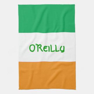 Beställnings- Irländare-Amerikan flaggakökshandduk Kökshandduk