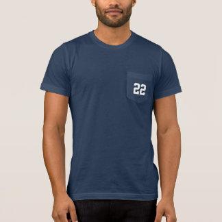 Beställnings- Jersey numrerar sportpappan T-shirt
