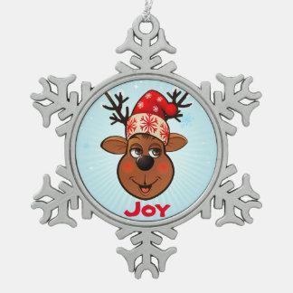 Beställnings- Jultomte ren Julgransprydnader