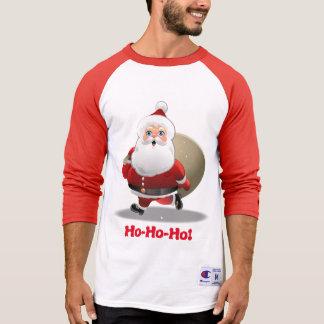 Beställnings- jultomten t-shirts
