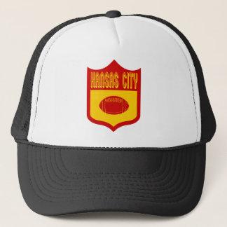 Beställnings- Kansas City skyddar Design1 Truckerkeps