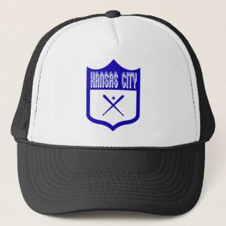 Beställnings- Kansas City skyddar Design2 Truckerkeps