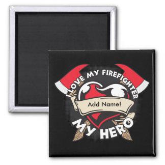 Beställnings- kärlek min brandman magnet